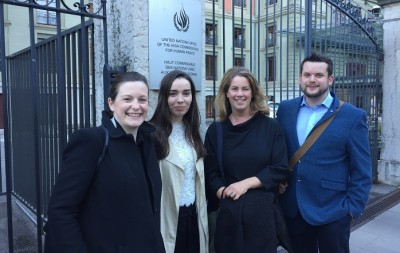 Immigrant Council of Ireland attend training in child migrant rights in Geneva FAIR project ICJ-Brussels