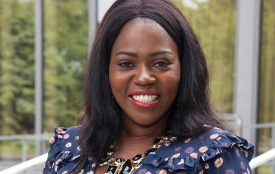 Ellie Kisyombe co-founder Our Table International Women's Day 2018