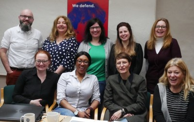 ASSIST launch, 11 March 2019, Immigrant Council of Ireland with partner organisations: SOLWODI, BeFree, SURT, JustRight & Europenan Network of Migrant Women